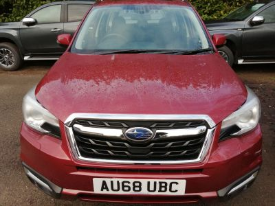 Subaru Forester 2.0 XE Lineartronic 5dr Estate Petrol Red at Constitution Motors  Norwich