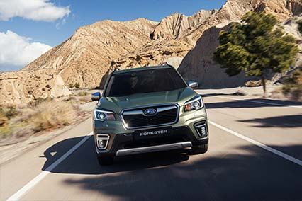 ALL-NEW FORESTER e-BOXER:<br/>HYBRID, THE SUBARU WAY